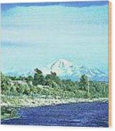 White Rock To Baker Wood Print