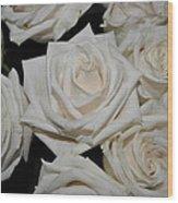 White Rose 1 Wood Print