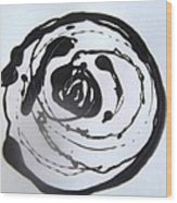 White Rose Simply Two  Wood Print