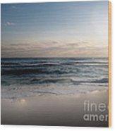 White Sands Wood Print by Jeffery Fagan