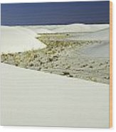 White Sands National Monument-106 Wood Print