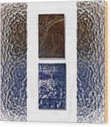 White Space Wood Print