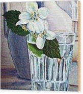 White White Jasmine  Wood Print