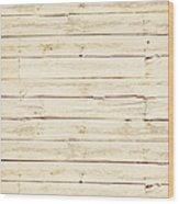 White Wood Wood Print