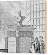 Whitefield Monument Wood Print