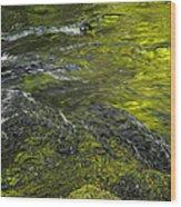 Whitehorse Falls Series 1 Wood Print