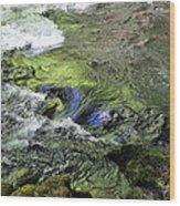 Whitehorse Falls Series 4 Wood Print
