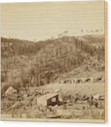 Whitewood Canyon, Wade And Jones R.r. Camp Wood Print