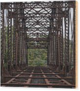Whitford Railway Truss Bridge Wood Print