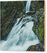 Waterfall - Whiting Downrush Wood Print