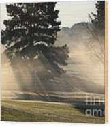 Whittle Springs Golf Course Wood Print