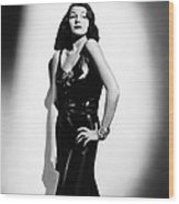 Who Killed Gail Preston, Rita Hayworth Wood Print