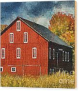 Why Do They Paint Barns Red? Wood Print