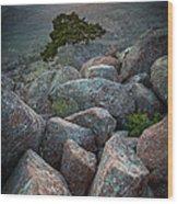 Wichita Mountains Wood Print