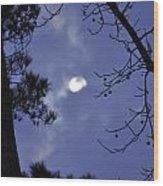 Wicked Moon Wood Print