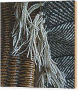 Wicker And Wool Wood Print
