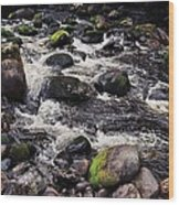 A River In The Wicklow Mountains, Ireland. Vision # 2 Wood Print