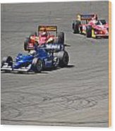 Wide In Turn 9 Wood Print
