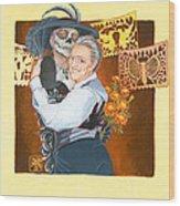 Widow's Waltz 1 Wood Print
