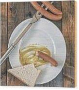 Wieners Wood Print by Joana Kruse