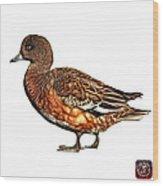 Wigeon Art - 7415 - Wb Wood Print