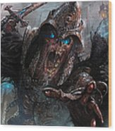 Wight Of Precinct Six Wood Print