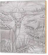 Wight Tale Wood Print