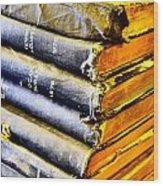 Wikipedia Origins Wood Print