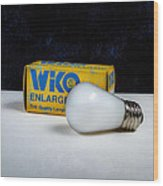 Wiko Enlarger Lamp Wood Print