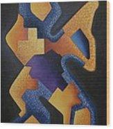 Wila Mayu Apu Wood Print