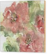 Wild Camellia 1 Wood Print
