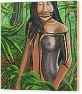 Wild Child Wood Print