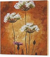 Wild Flowers 041 Wood Print