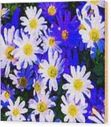Wild Flowers 3 Wood Print