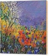 Wild Flowers 4110 Wood Print