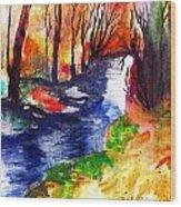 Wild Forest Wood Print