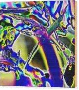 Wild Grass 1 Wood Print