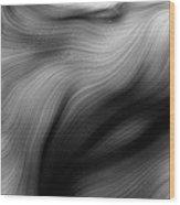 Wild Hair 4 Wood Print