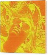 Wild Hair Wood Print