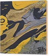 Wild Horse Cry Wood Print