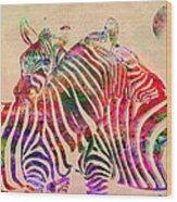Wild Life 3 Wood Print by Mark Ashkenazi