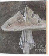 Wild Mushroom 2 Wood Print