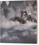 Wild Skies Wood Print