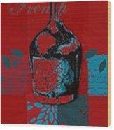 Wild Still Life - 0102b - Red Wood Print