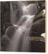 Wildcat Falls Wood Print