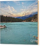 Wilderness Lake  Wood Print