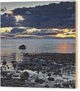Wilderness Park Sunset Wood Print