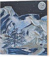 Wilderness Sky Wood Print