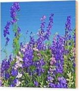 Wildflowers #11 Wood Print