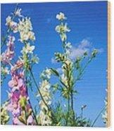Wildflowers #13 Wood Print